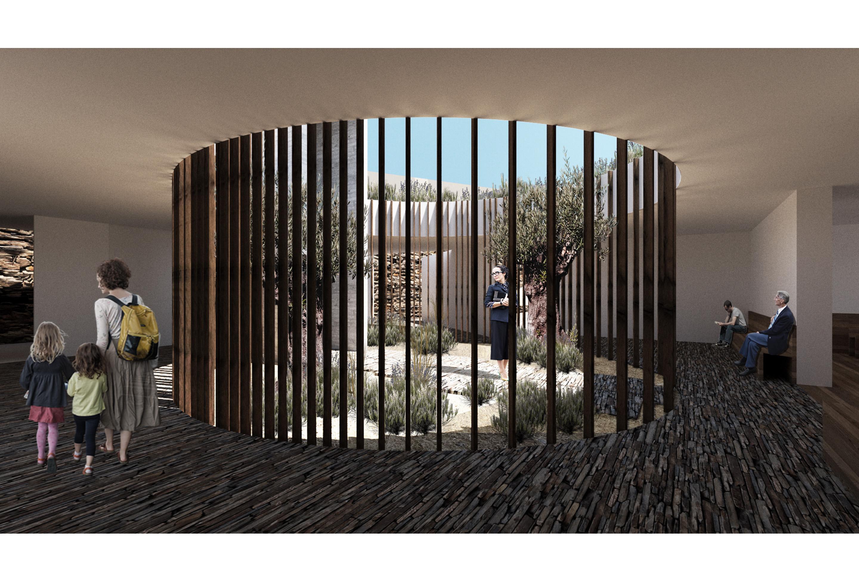 Casa mortuaria mortuary barrancos beja alentejo arquitectura architecture funebre arquitecto arquitectos concurso competition